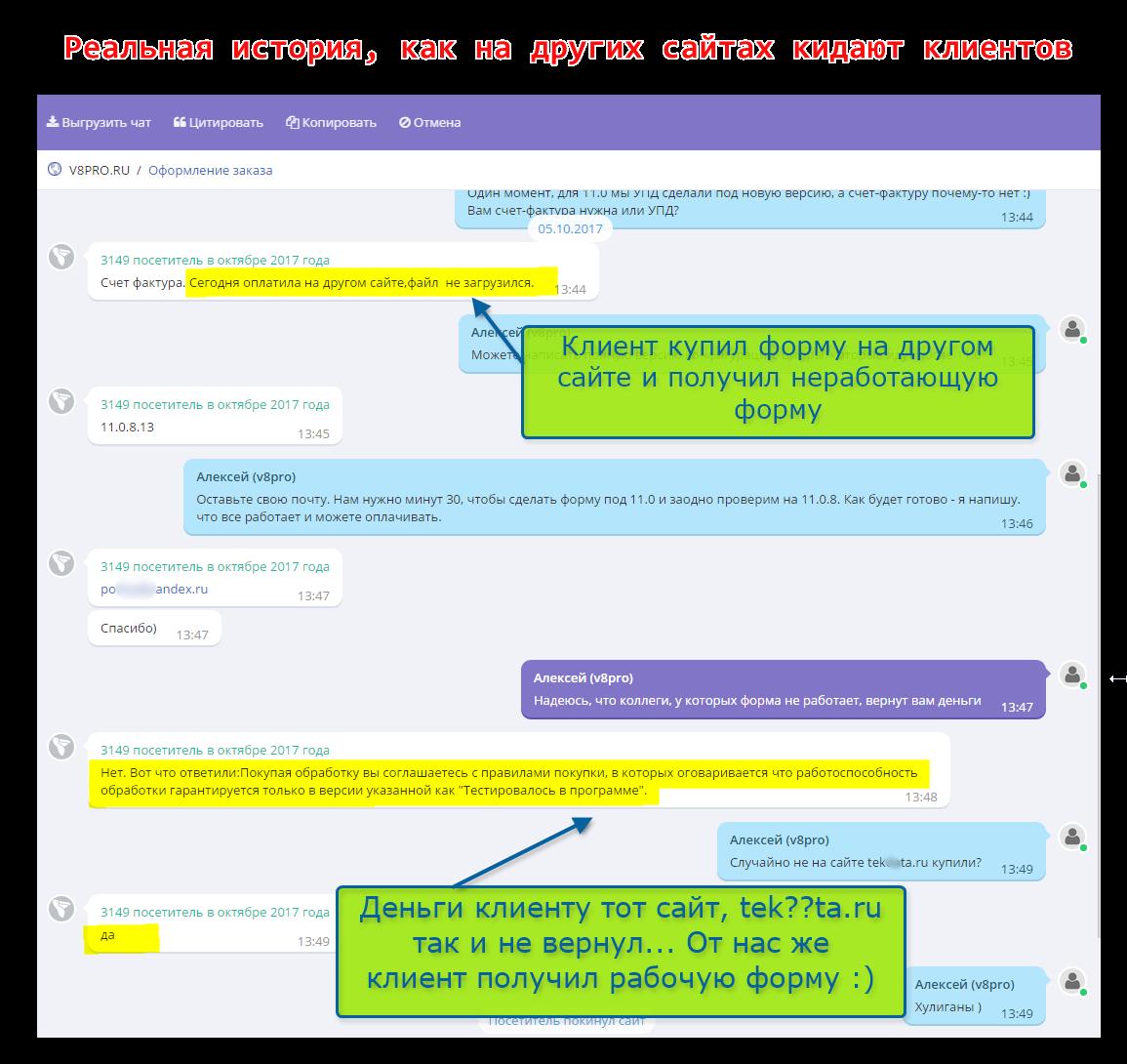 Отрицательные отзывы tekdata.ru